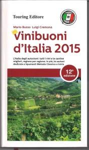 VINI BUONI D'ITALIA 2015 COPERTINA